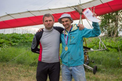 Cергей Котов и Андрей Бондаренко